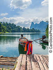 Cheo Lan Lake in the Thai Reserve