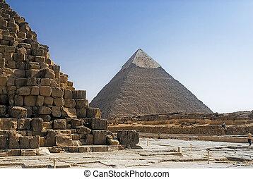 cheops piramide, khafre