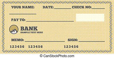 cheque branco