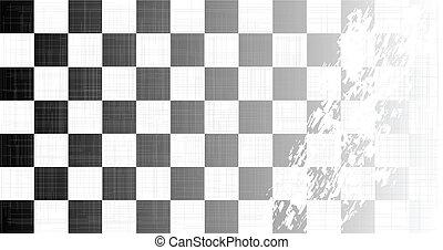 chequered の旗, グランジ