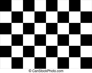 Chequered flag - Background of motor racing chequered of...