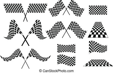 Chequered Flags - Various Chequered Flags