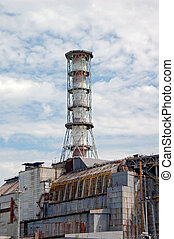 Chernobyl atomic power station, 25 years after catastrophe,...