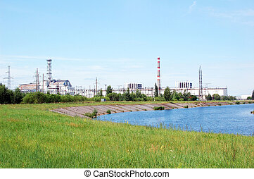 Chernobyl atomic power station, 25 years after nuclear...