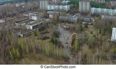 Chernobyl Ferris Wheel Aerial