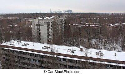 Chernobyl, pripyat, reactor. winter. 2014 - Chernobyl,...