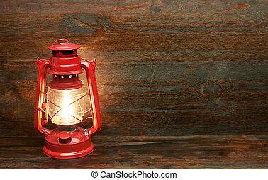 cherosene, lampada olio, lanterna