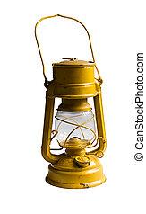 cherosene, vecchio, lampada