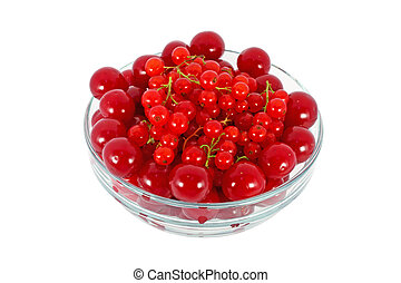 Cherries and currants