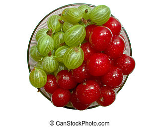 Cherries and gooseberries 2