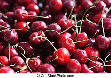 Cherries in bulk