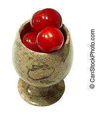 Cherries in goblet 2