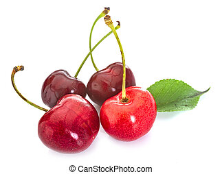 cherries in studio