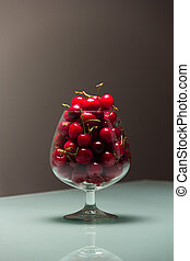 Cherries in the glass-2