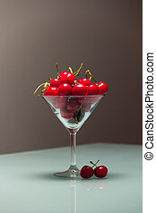 Cherries in the glass-6