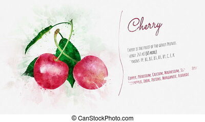 Cherries useful properties presentation - A finished...