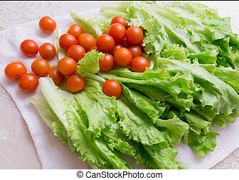 cherry and cabbage tomatoes