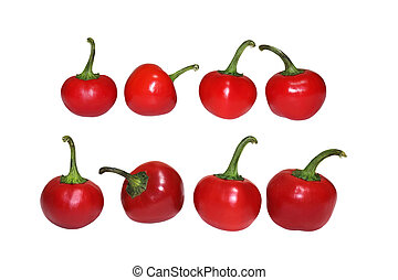 Cherry Big Bomb Pepper - Big bomb pepper cherry like poblano...