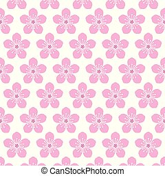 cherry blossom background pattern
