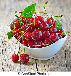 cherry bowl  shoot in studio
