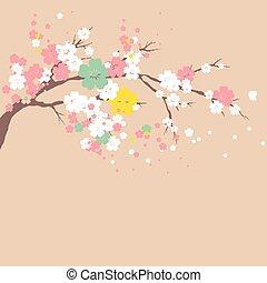 cherry branch