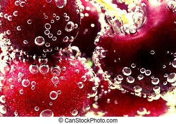 Cherry bubbles