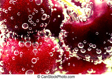 Cherry bubbles