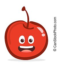 Cherry cartoon character
