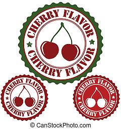 Cherry flavor stamp
