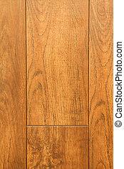 Cherry hardwood details.