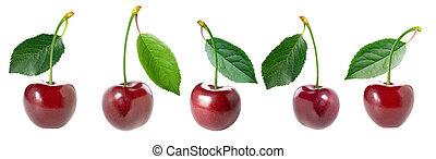 Cherry set.