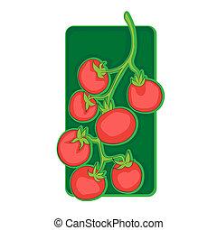 cherry tomato clip art