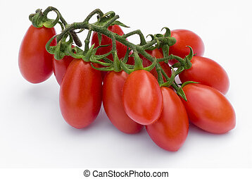 Cherry Tomato on white background