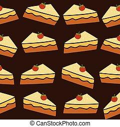 cherry top tart cake