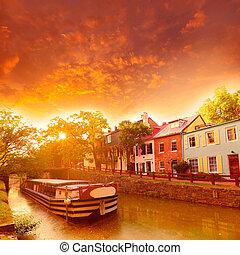 chesapeake, そして, オハイオ州, 運河, 国立公園, dc