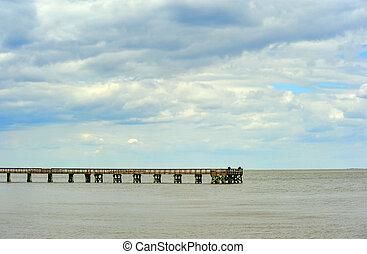 Chesapeake Bay Maryland Fishing pier