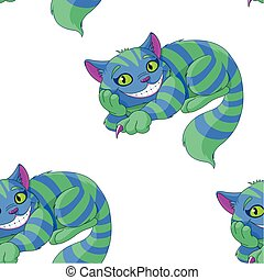 Cheshire Cat Pattern