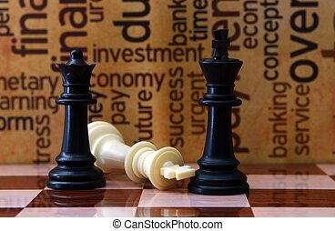 Chess and business concept