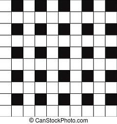 Chess Board Black White Background