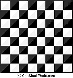 Chess board flat design style