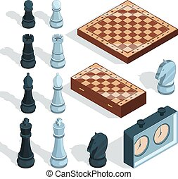 Chess board game. Strategical tactical entertainment...