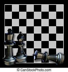 Chess Board Graphic/Illustration