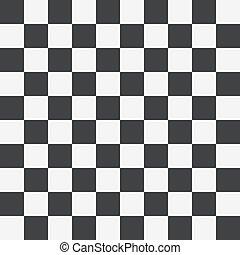 Chess board seamless pattern.