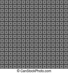 Chess board style seamless backgrou