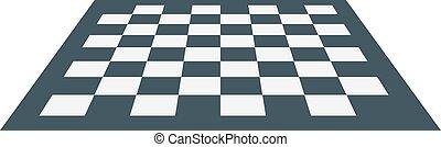 Chess board vector illustration.
