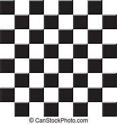 Abstract background illustration of 3d chess checkers tiles.