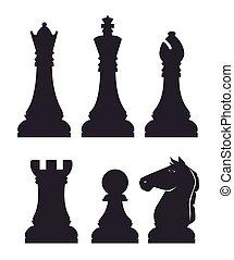 Chess design.