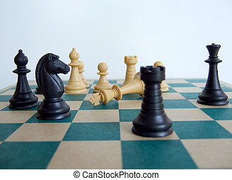 Chess game – the king is