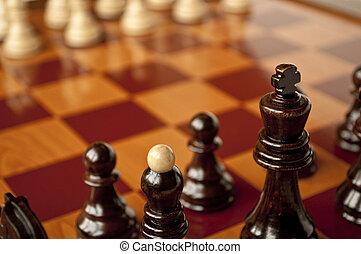 Chess game macro
