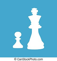 Chess icon 2, simple